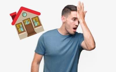 5 Fehler beim Immobilienverkauf