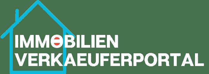 Immobilien Verkäuferportal Logo Weiß