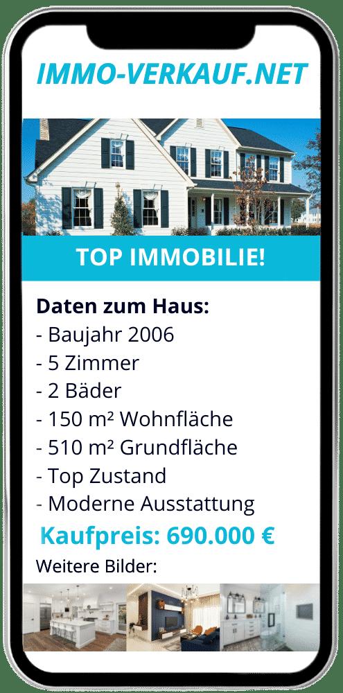 Beispiel Inserat Haus verkaufen